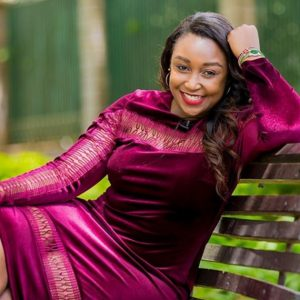 Betty Kyalo. She narrowly escaped death and survived 7 surgeries after the freaky accident. www.businesstoday.co.ke