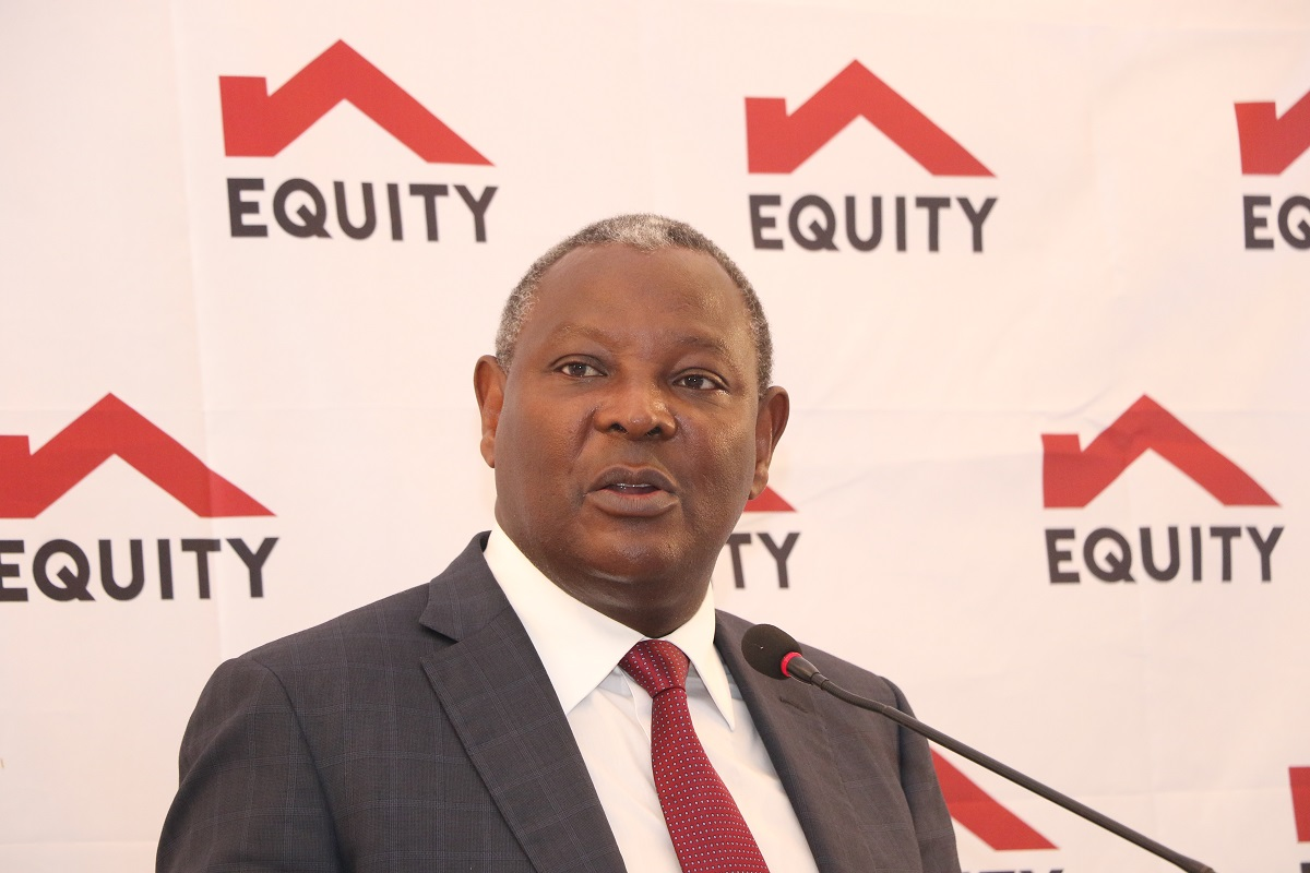 Equity Group Profit 2019 and Equity Bank CEO Dr James Mwangi www.businesstoday.co.ke