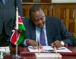 President Uhuru Kenyatta signed the data protection bill into law on Friday. www.businesstoday.co.ke