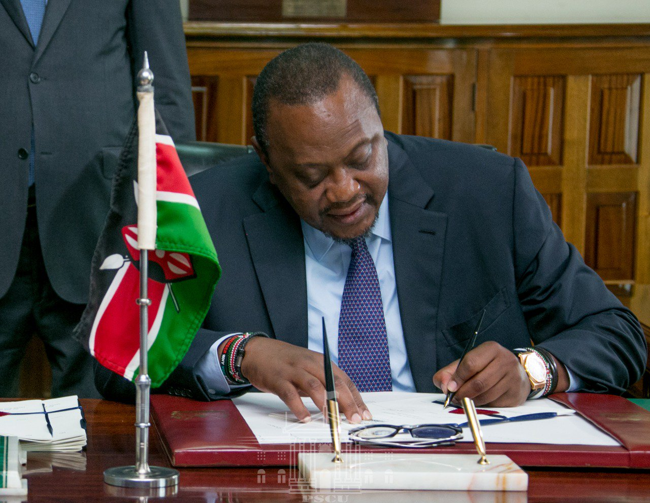 President Uhuru Kenyatta signed the data protection bill into law on Friday. www.businesstoday.co.ke