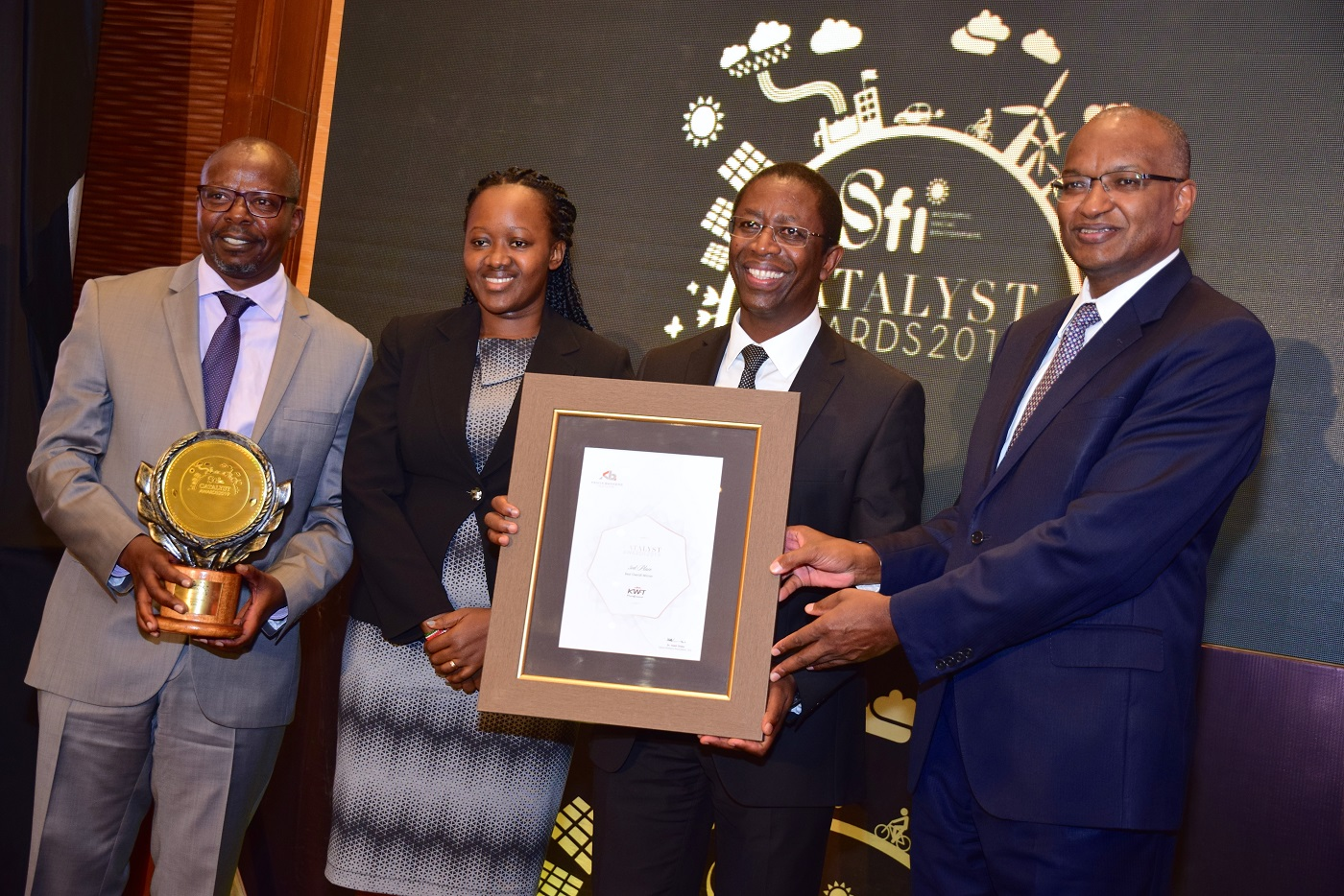 Kenya Bankers Association Sustainable Finance Initiative (SFI) Catalyst Awards www.businesstoday.co.ke