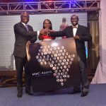 MMC Asafo Team Leader Edward Muriu (left), MMC Asafo Managing Partner Esther Omulele and Asafo & Co. Founding Partner Pascal Agboyibor during the launch of MMC Asafo. www.businesstoday.co.ke