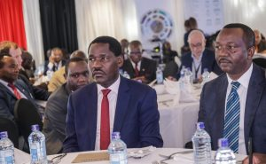 Trade CS Peter Munya with the the Kenya Investment Authority Board Chair Dennis Waweru during the launch of the policy. The government is planning a new method to attract foreign direct investment (FDI) into Kenya. www.businesstoday.co.ke