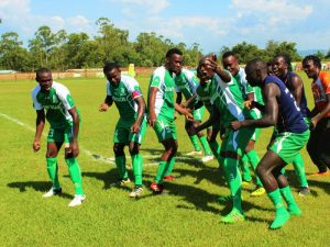 Sony Sugar players celebrating a goal in a past KPL match. The club has been expelled from the league. www.businesstoday.co.ke