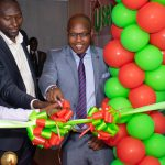 Username Investmets CEO Reuben Kimani officially launches the company's head office in Westlands. www.businesstoday.co.ke