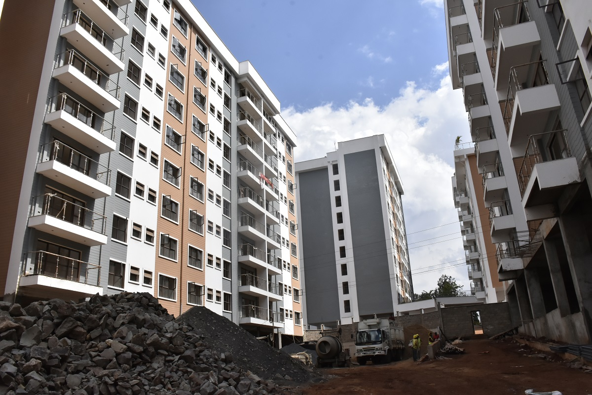 Cytonn's The Alma in Ruaka. The company has launched a regulated fund to finance affordable housing. www.businesstoday.co.ke