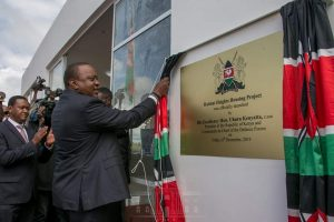 Habitat Heights Lukenya - Uhuru launches affordable housing project www.businesstoday.co.ke