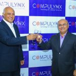 (L-R) Director of Compulynx Mehul Savani and the CEO & Founder Sailesh Savani toast to a new beginning during the unveiling of the new strategic direction for the company. www.businesstoday.co.ke