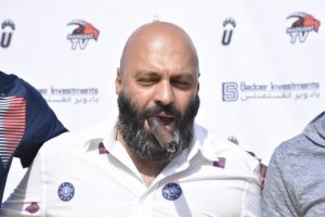 Wazito FC President Ricardo Badoer cigar www,businesstoday.co.ke