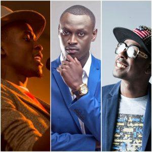 From left Tear Drops, King Kaka and Frasha. Tear Drops and Frasha have both released Wajinga Nyinyi sequels. www.businesstoday.co.ke