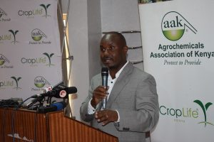 Agrochemicals Association of Kenya CEO Eric Kimunguyi. The Association holds that a move to ban 262 pesticides would slash Kenya's maize production by 70% and create a ballooning locust problem. www.businesstoday.co.ke