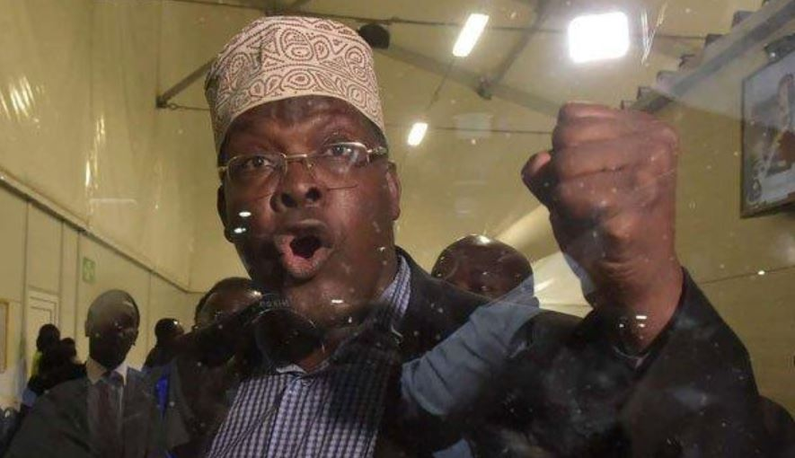 Miguna Miguna has been barred from flying to Kenya or any other African country. Photo/ Nairobi Wire