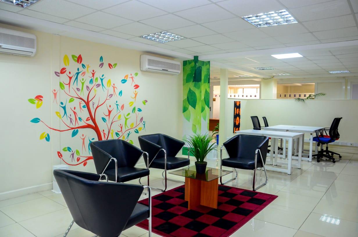 Nomad Lounge - coworking space in Nairobi www.businesstoday.co.ke