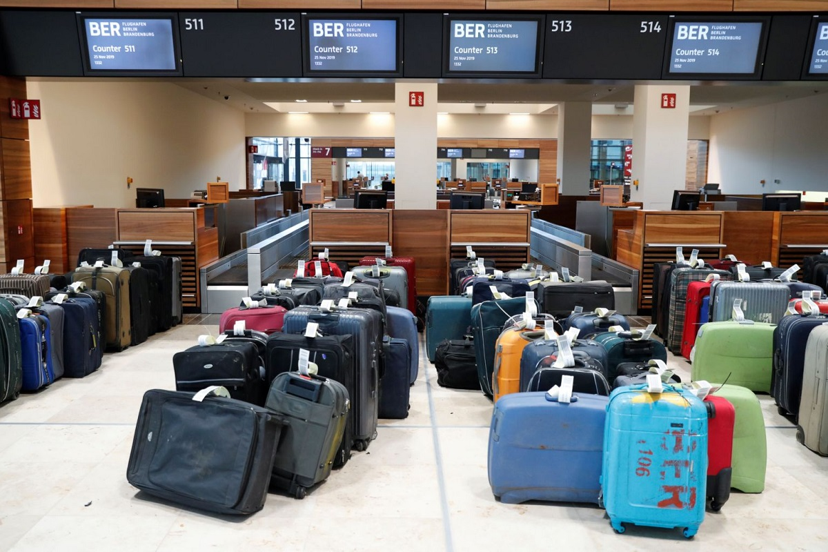 Luggage at an airport. It is always advisable to have travel insurance since travelling comes with many risks. www.businesstoday.co.ke