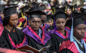 Education investment plans in Kenya - Kabarak University Graduation www.businesstoday.co.ke