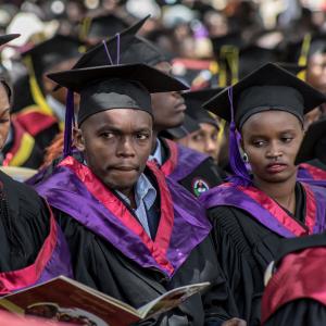 Education investment plans in Kenya - Kabarak University Graduation www.businesstoday.co.ke