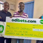 Leonard Onyango won Ksh 2 million in what experts term as an audacious bet. www.businesstoday.co.ke