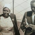 Former President Daniel Moi with his wife Lena. Moi passed on in the early hours of Tuesday morning. www.businesstoday.co.ke