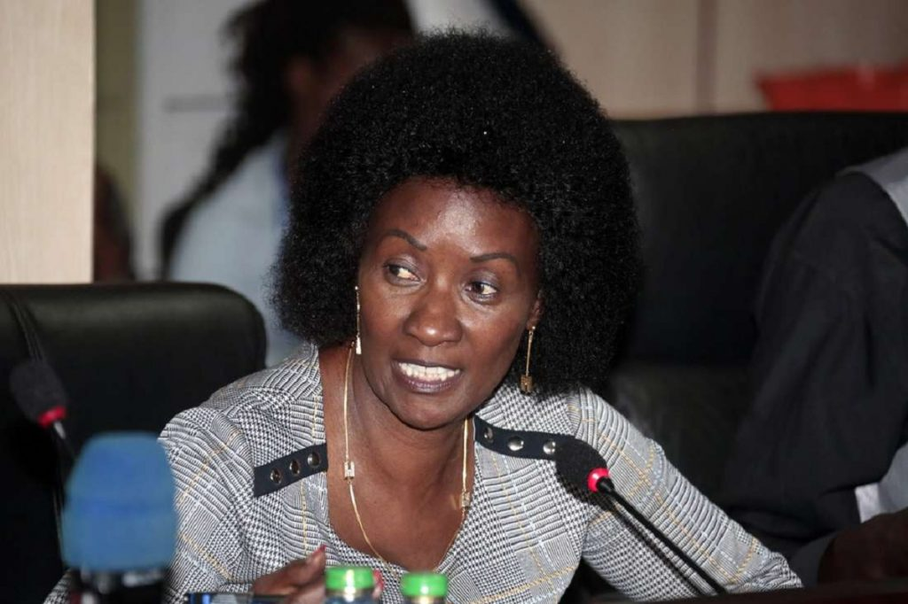 TSC CEO Nancy Macharia. She said that the right to life supersedes that of education and that enhancing security was the only way TSC could have teachers deployed in the region. www.businesstoday.co.ke