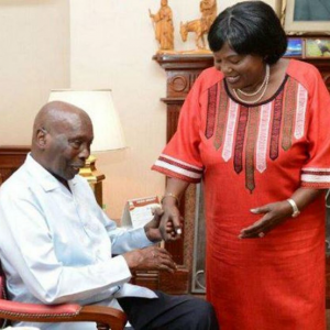 The Late President Daniel Arap Moi with Mama Ngina Kenyatta. Moi's wealth is conservatively estimated at Sh300 billion. www.businesstoday.co.ke