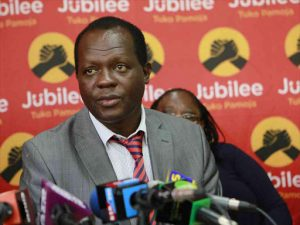 Jubilee Secretary General Raphael Tuju. www.businesstoday.co.ke