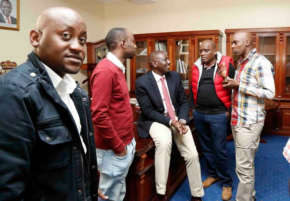 Dennis Itumbi heads to Ruto www.businesstoday.co.ke