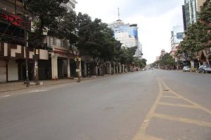 A section of Nairobi desserted. www.businesstoday.co.ke
