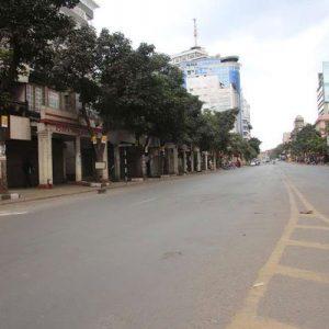 A section of Nairobi desserted. www.businesstoday.co.ke