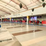 "A photo taken by Larry Madowo and captioned, ""I've never seen JKIA Nairobi this deserted."" The government has said that only Kenyan Citizens and foreigners with valid resident permits will be allowed entry. www.businesstoday.co.ke"