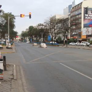 Lockdown in Kenya www.businesstoday.co.ke