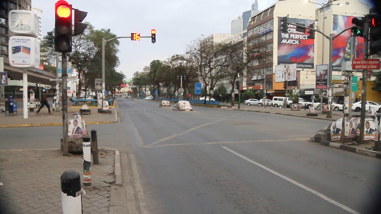 Lockdown in Kenya www.businesstoday.co.ke