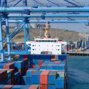 A section of the Mombasa Port. In Kenya, a possible price hike for commodities looms in the region since cargo ships supplying goods from China have not docked for more than two months following the coronavirus outbreak. www.businesstoday.co.ke
