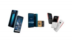 The new Nokia phones range. HMD Global has also entered a brand-new service category with HMD global data roaming to keep users connected. www.businesstoday.co.ke