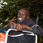 """Abel Kirwa. He says that what drives him is a positivity that """"walking is overrated"""". www.businesstoday.co.ke"""
