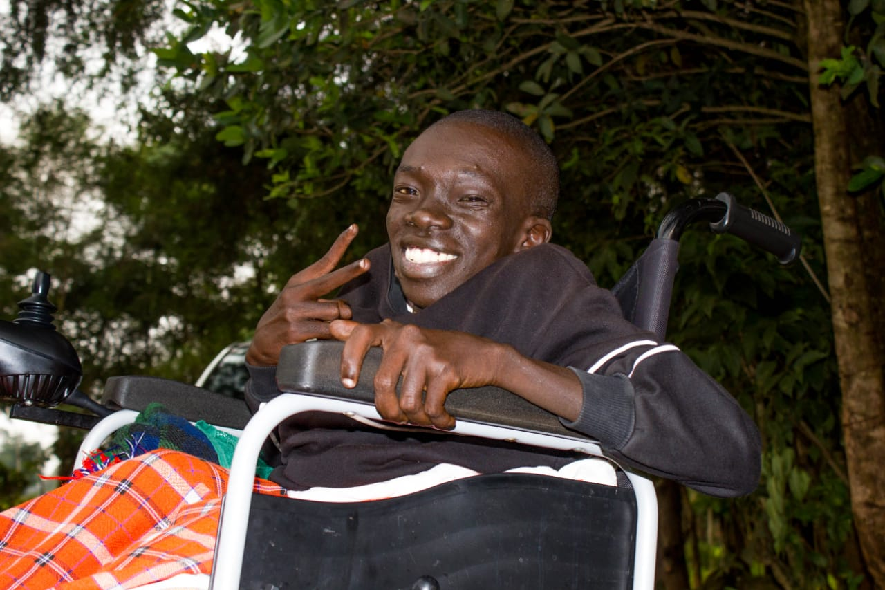 "Abel Kirwa. He says that what drives him is a positivity that ""walking is overrated"". www.businesstoday.co.ke"
