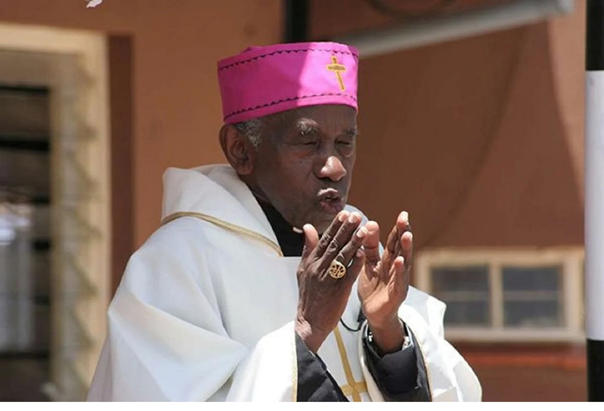 Emeritus Archbishop Raphael Ndingi Mwana 'a Nzeki. He survived a plague that disrupted learning resulting in closure of the school where many students, priests and nuns died. www.businesstoday.co.ke