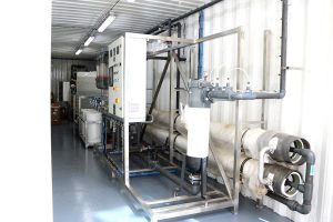 Davis & Shirtliff have introduced containerised water treatment plants in the market. The systems can be operated as standalone units and can purify most water types. www.businesstoday.co.ke