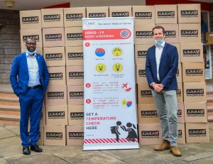 Jumia donates face masks in Kenya www.businesstoday.co.ke
