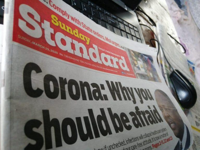 Standard Group makes changes www.businesstoday.co.ke
