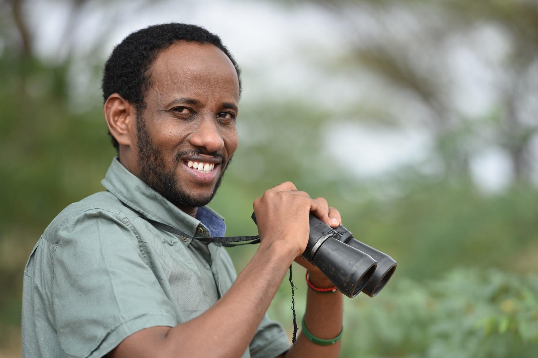 Abdullahi Hussein Ali Hirola Antelope_Kenya_Fieldwork www.businesstoday.co.ke