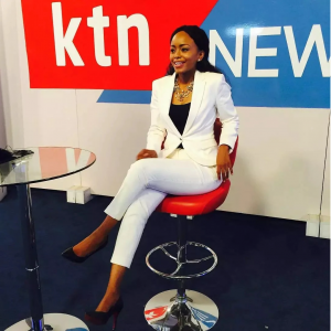 KTN News anchors Sophia Wanuna www.businesstoday.co.ke