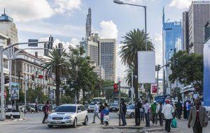 Kenyans in Nairobi CBD