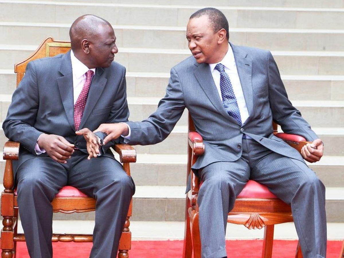 President Uhuru Kenyatta and DP William Ruto pictured at a past forum