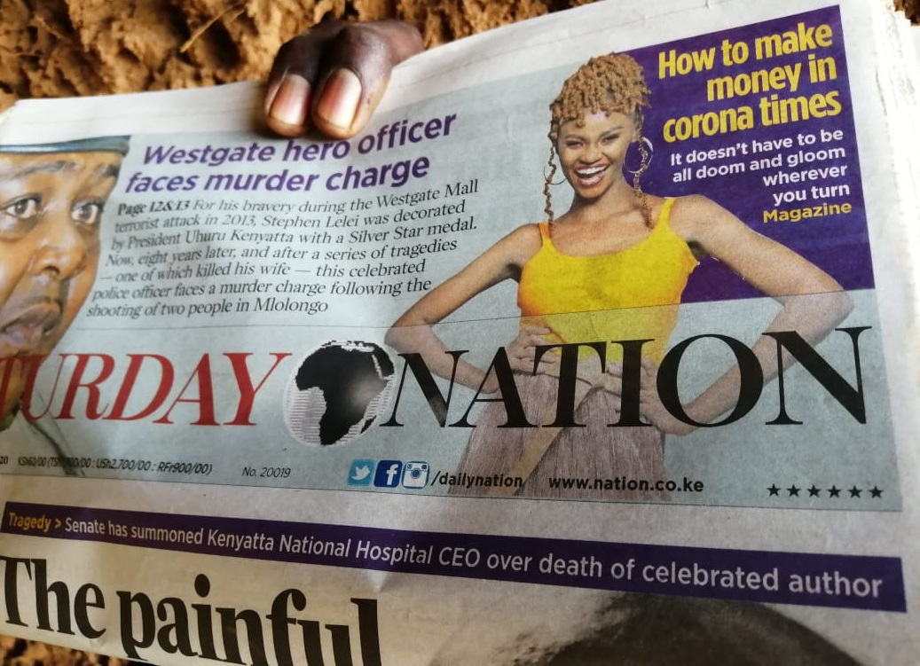 Nation newspaper redesign and rebrand www.businesstoday.co.ke