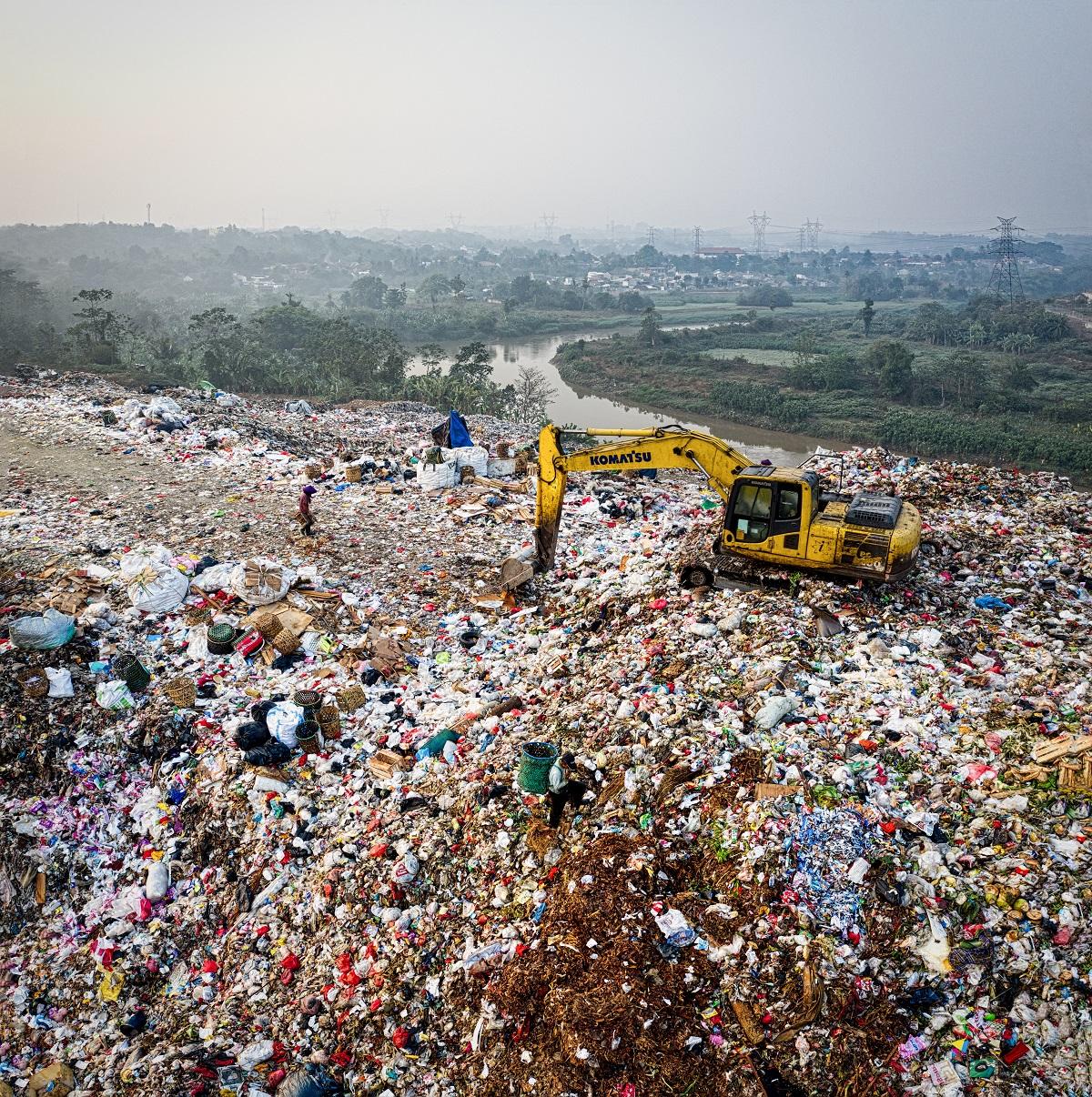 Plastic waste disposal in Kenya