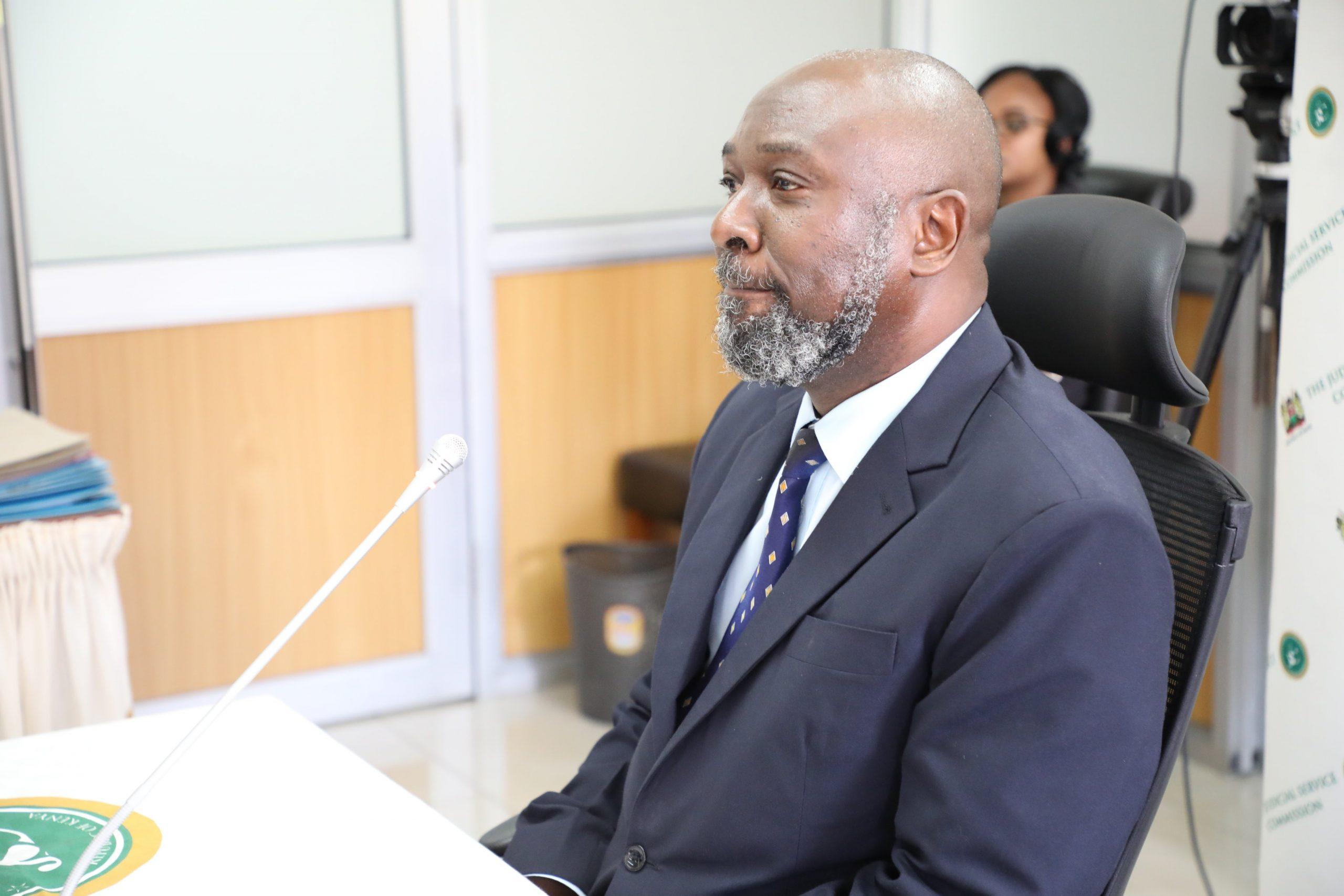 Justice Stephen Radido KUJ case www.businesstoday.co.ke