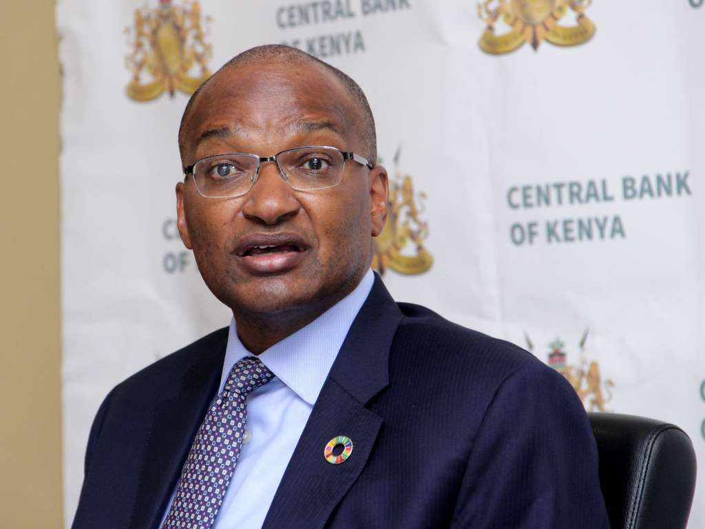 CBK Governor Patrick Njoroge Photo