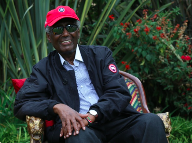 Chris Kirubi pictured during a past interview.