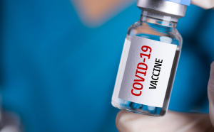 A vial depicting a Covid-19 vaccine. Kenya is yet to reserve doses of the frontrunner vaccines.
