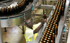 EABL share price at the NSE